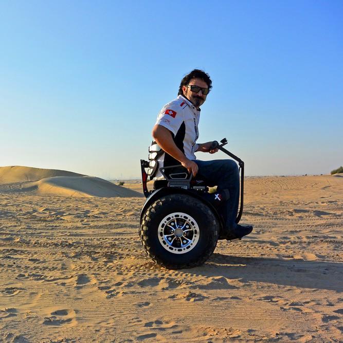 silla de ruedas de playa