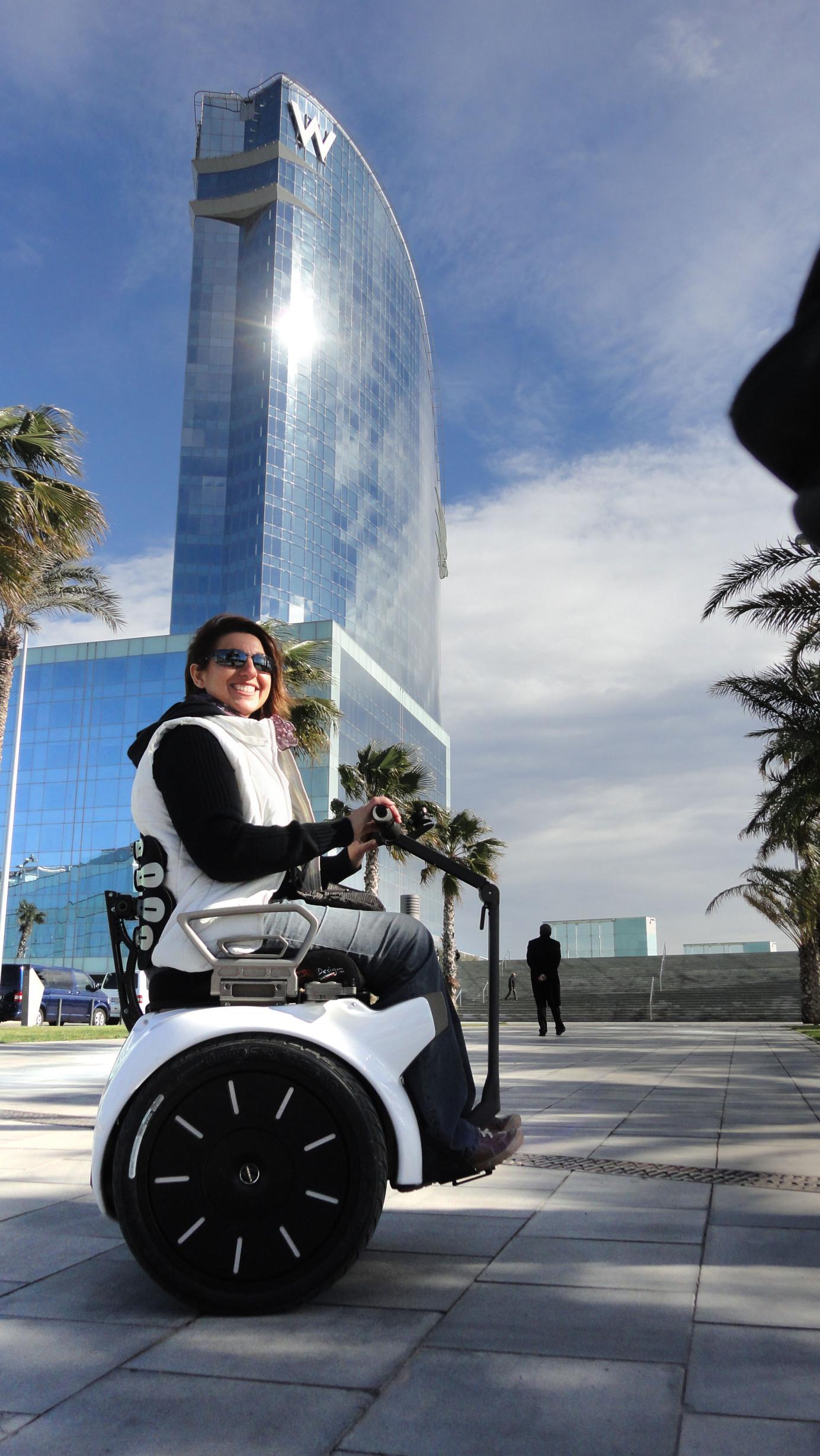 la silla de ruedas eléctrica perfecta para Madrid
